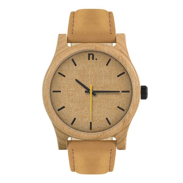 Drewniany zegarek classic 43 n014