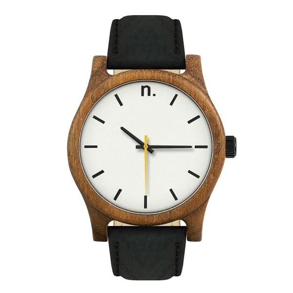 Drewniany zegarek classic 43 n006