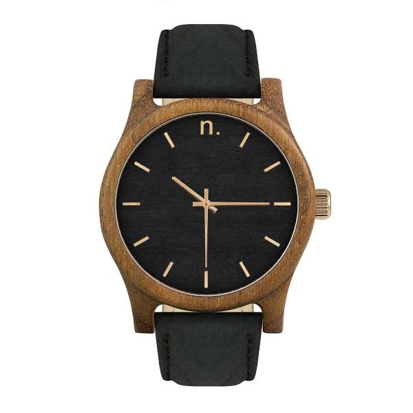 Drewniany zegarek classic 43 n007