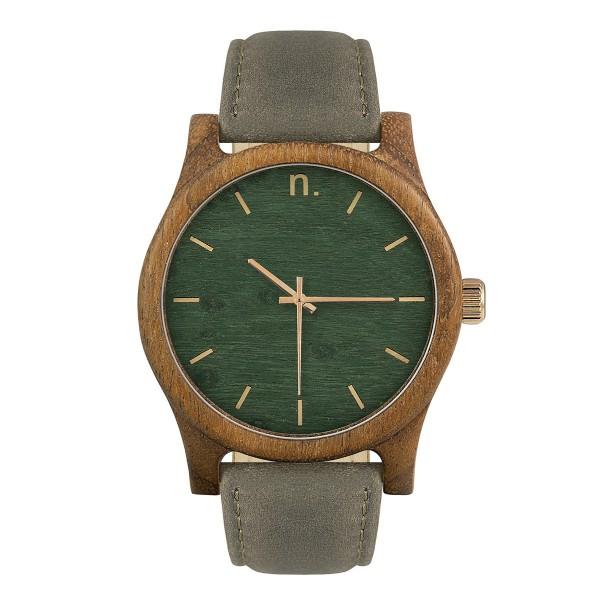 Drewniany zegarek classic 43 n010
