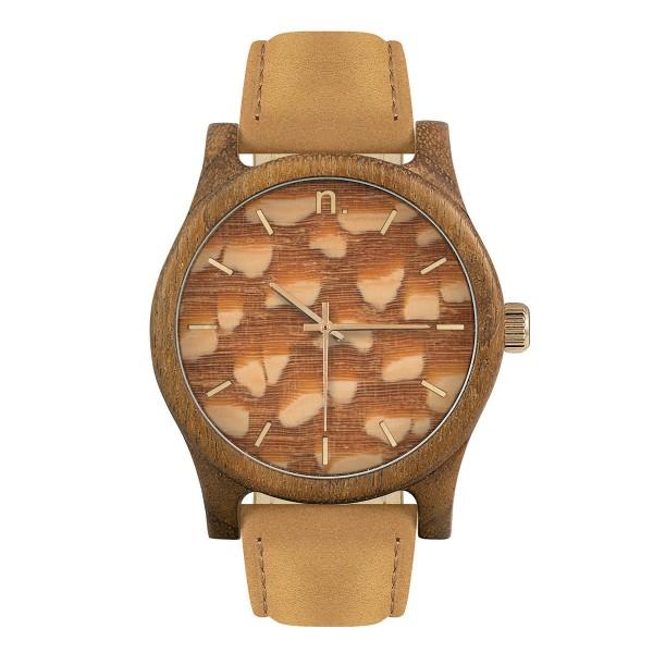 Drewniany zegarek classic 43 n011