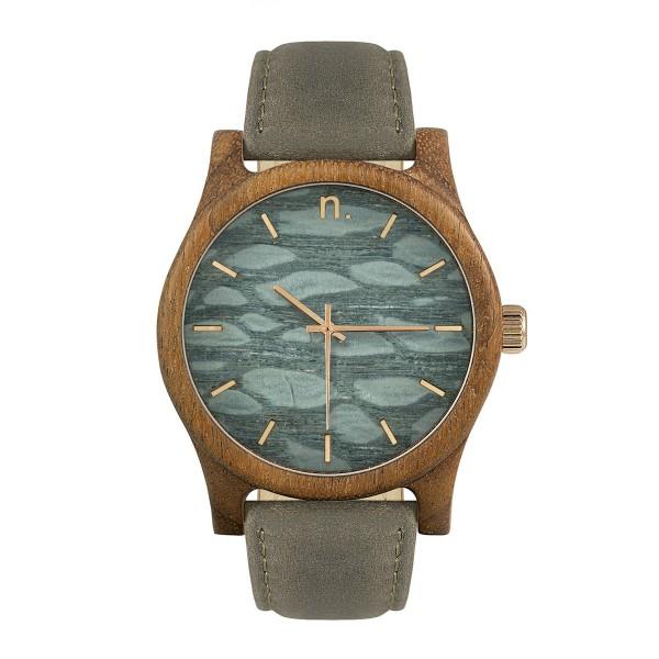Drewniany zegarek classic 43 n012