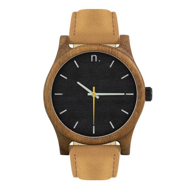Drewniany zegarek classic 43 n013