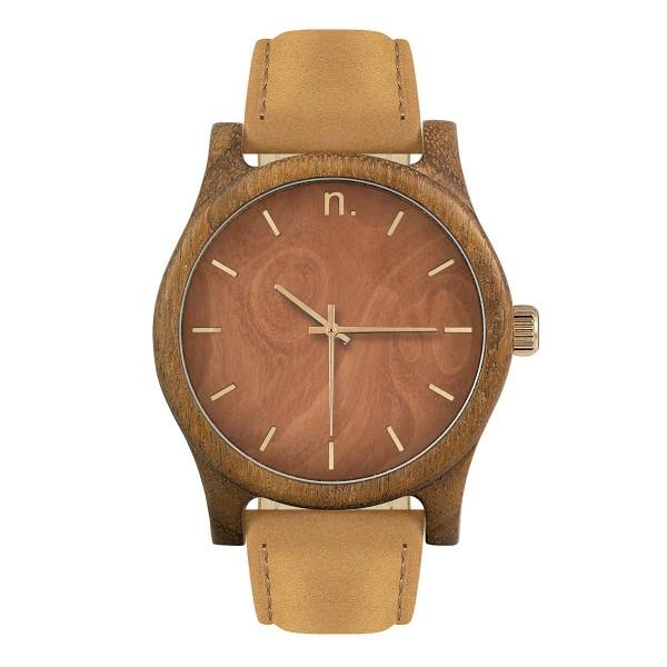 Drewniany zegarek classic 43 n015