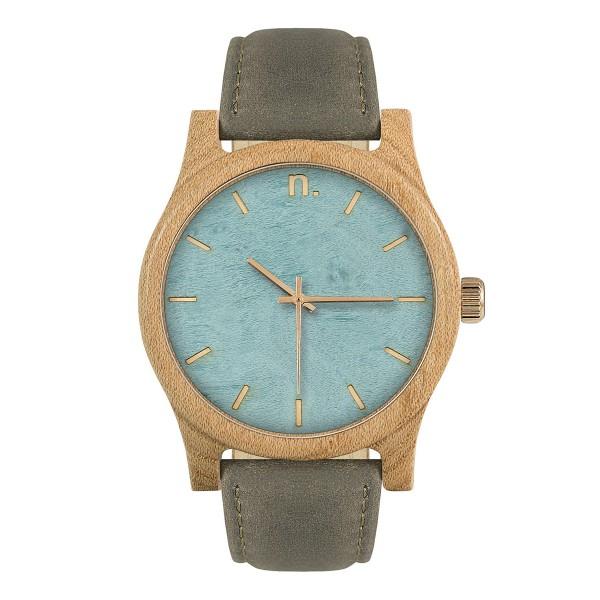 Drewniany zegarek classic 43 n022