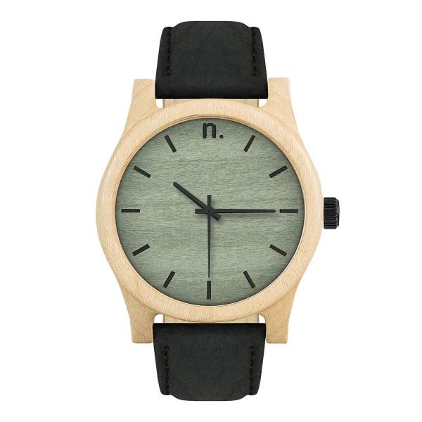 Drewniany zegarek classic 43 n023