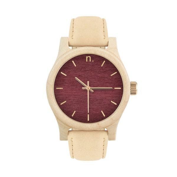 Drewniany zegarek damski classic 38 n034