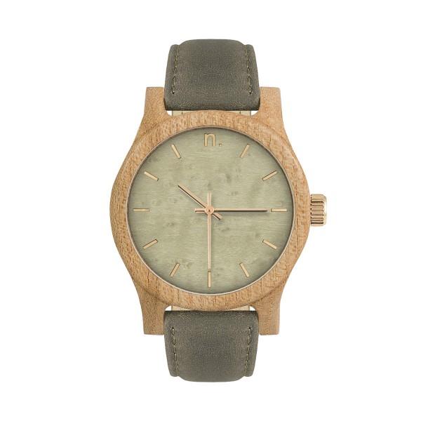 Drewniany zegarek damski classic 38 n039