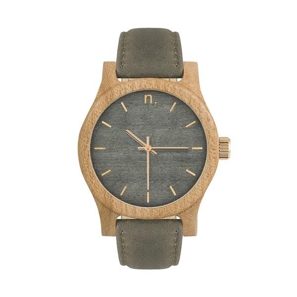 Drewniany zegarek damski classic 38 n040