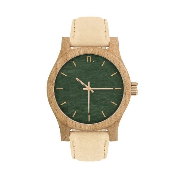 Drewniany zegarek damski classic 38 n030