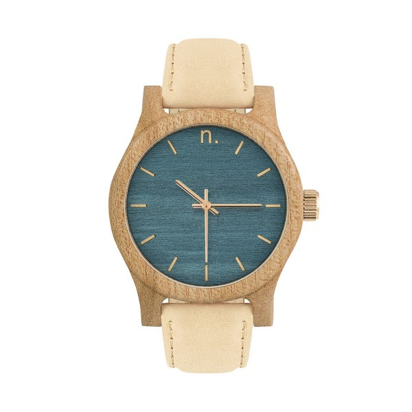 Drewniany zegarek damski classic 38 n029