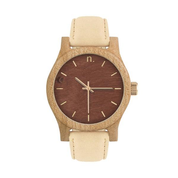 Drewniany zegarek damski classic 38 n032