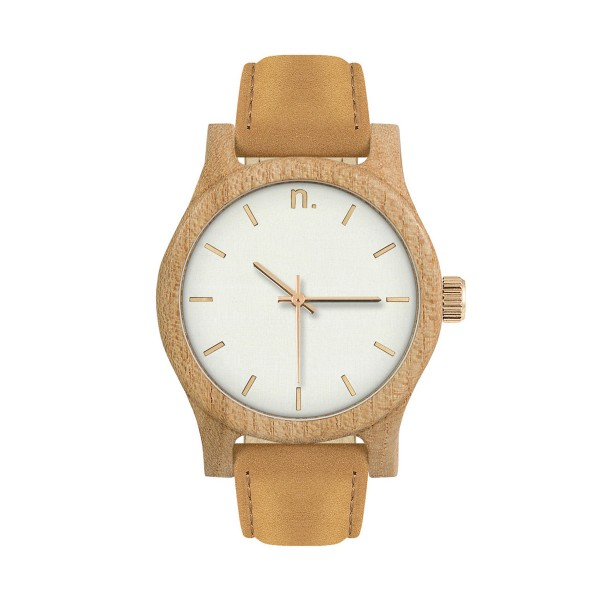 Drewniany zegarek damski classic 38 n031