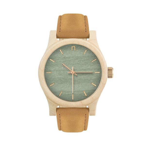 Drewniany zegarek damski classic 38 n036