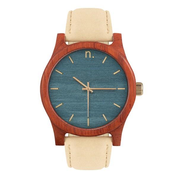 Drewniany zegarek classic 43 n016