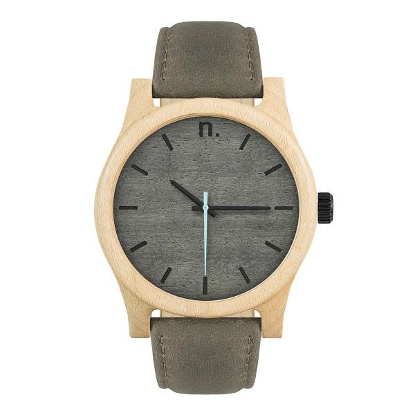 Drewniany zegarek classic 43 n024