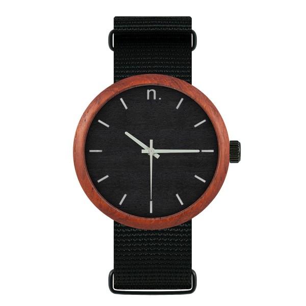 Drewniany zegarek new hoop 43 n049