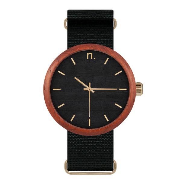 Drewniany zegarek new hoop 43 n046