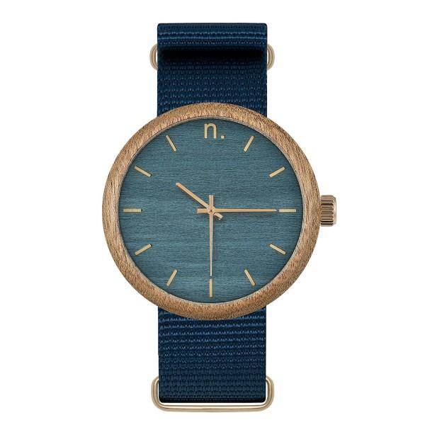 Drewniany zegarek new hoop 43 n043