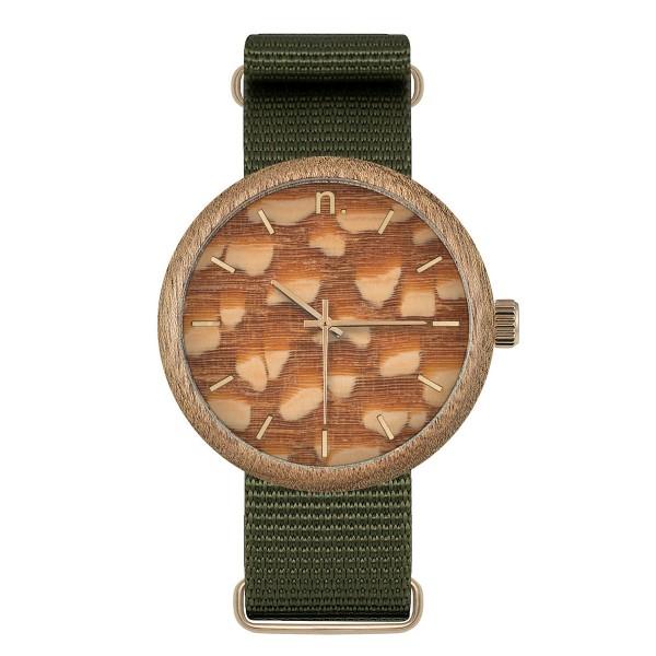 Drewniany zegarek new hoop 43 n057