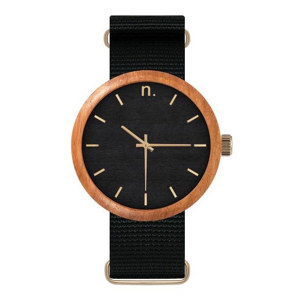 Drewniany zegarek new hoop 43 n054