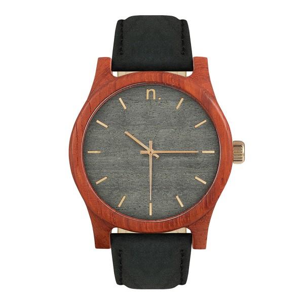 Drewniany zegarek classic 43 n002