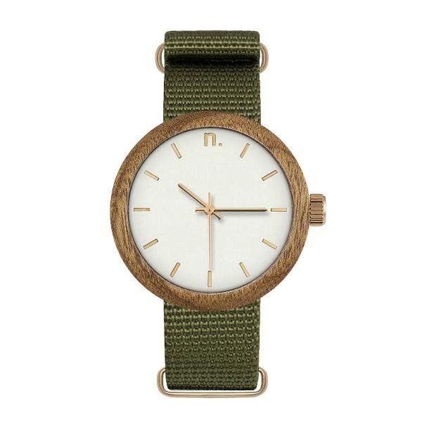 Drewniany zegarek damski new hoop 38 n059