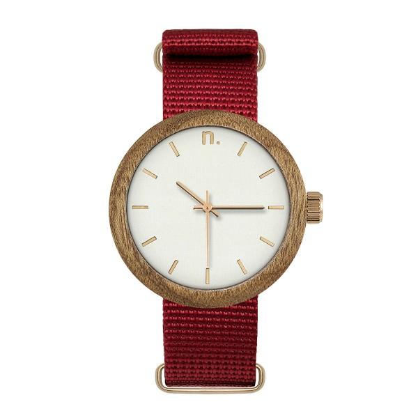 Drewniany zegarek damski new hoop 38 n060