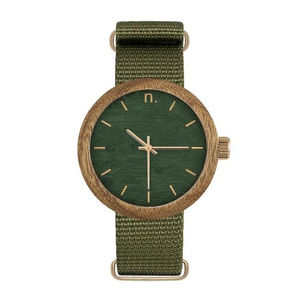 Drewniany zegarek damski new hoop 38 n061