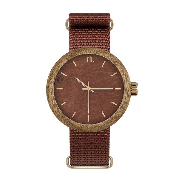Drewniany zegarek damski new hoop 38 n062