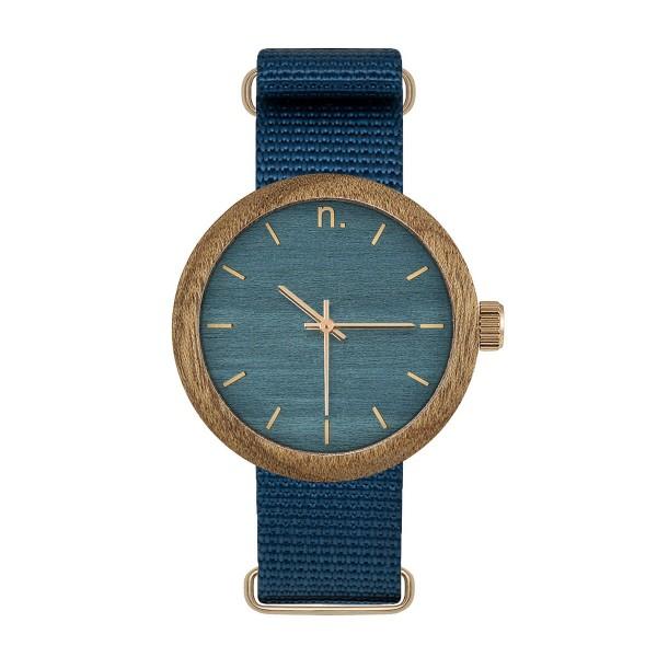 Drewniany zegarek damski new hoop 38 n064
