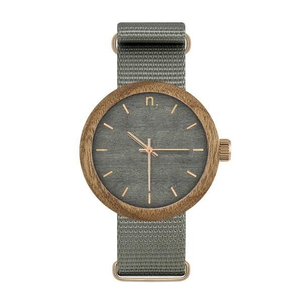 Drewniany zegarek damski new hoop 38 n065