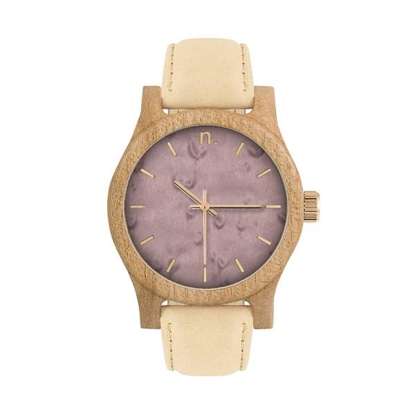 drewniany zegarek damski classic 38 n080