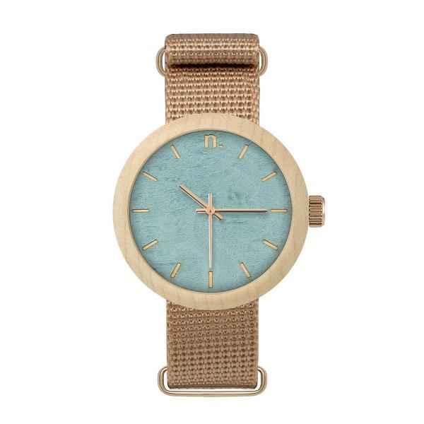 Drewniany zegarek damski new hoop 38 n067