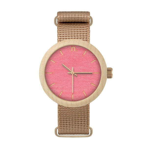 Drewniany zegarek damski new hoop 38 n068