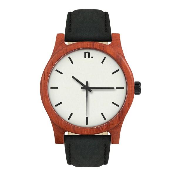 Drewniany zegarek classic 43 n003