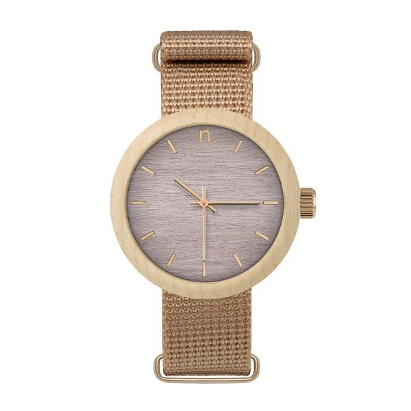 Drewniany zegarek damski new hoop 38 n069