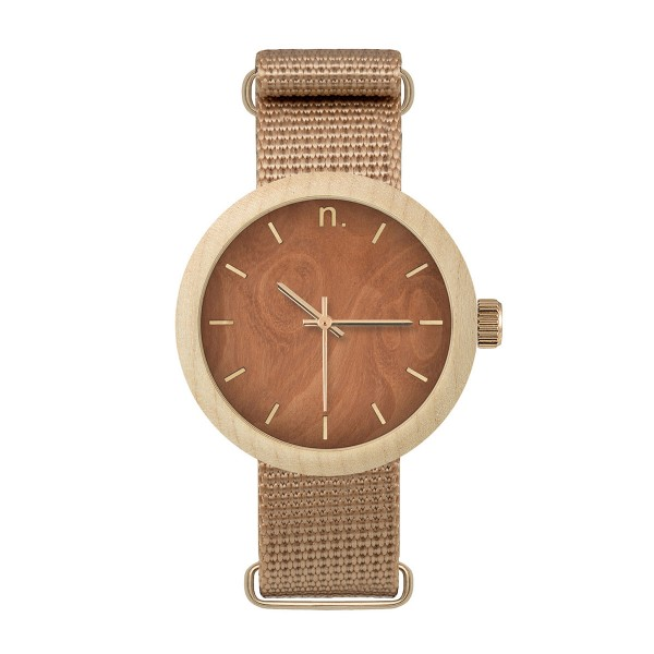 Drewniany zegarek damski new hoop 38 n070