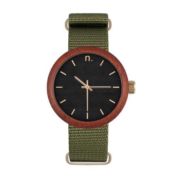 Drewniany zegarek damski new hoop 38 n071