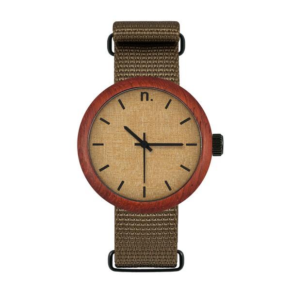 Drewniany zegarek damski new hoop 38 n072