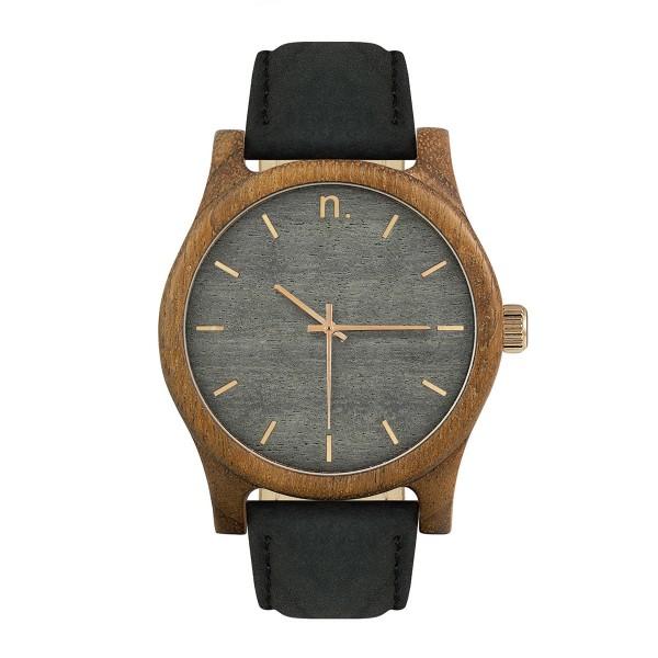 Drewniany zegarek classic 43 n008