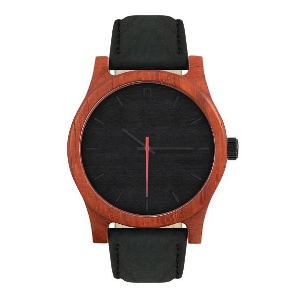 Drewniany zegarek classic 43 n004